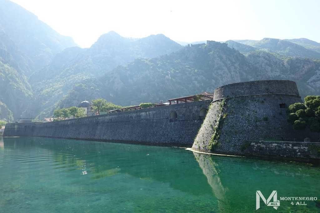 Городские стены Котора