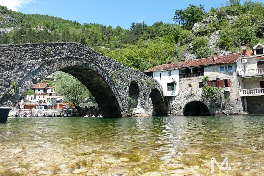 Мост Данилы на реке Црноевича