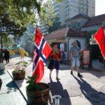 Норвежский праздник отмечается в Игало