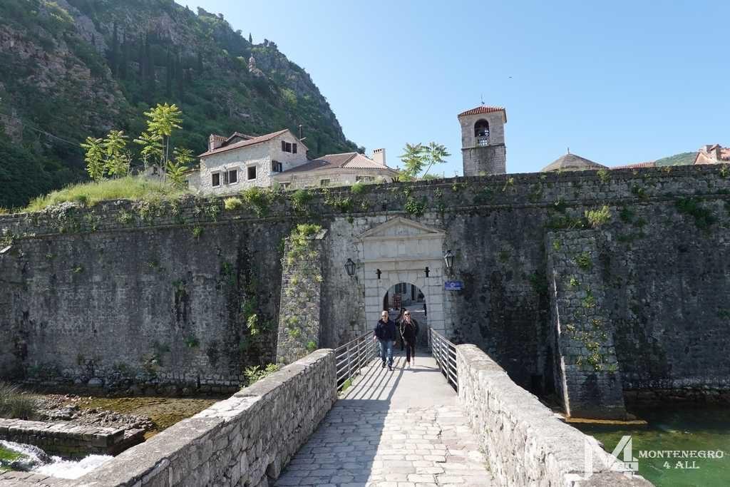 Вход в город со стороны северных ворот