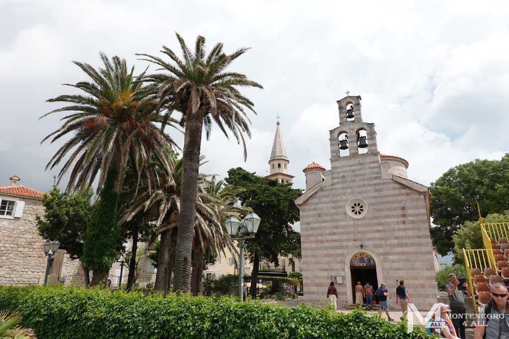 Церкви Старого города Будва