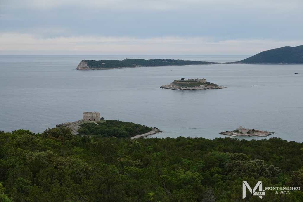 Вид на Хорватию и форт Мамула
