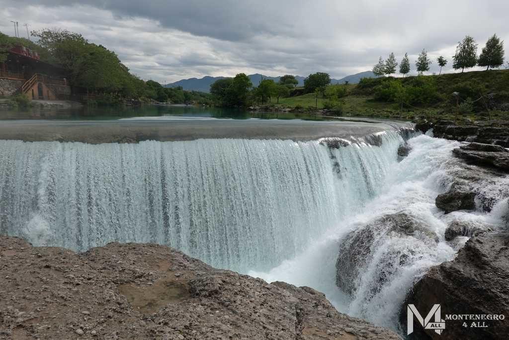 Водопад Ниагара в Черногории