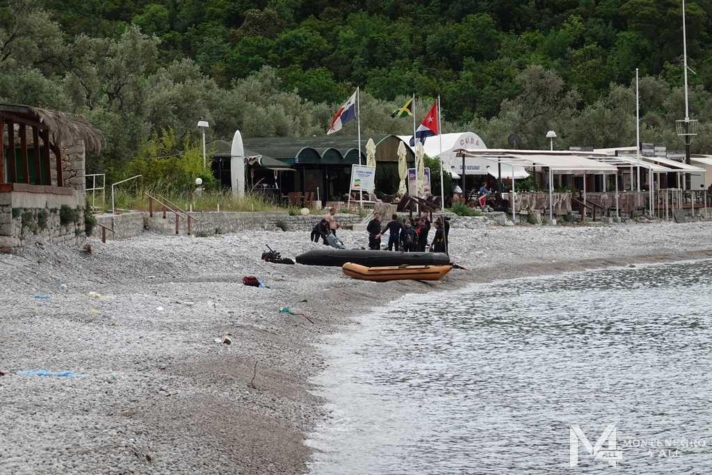 Дайвинг на пляже Жаница