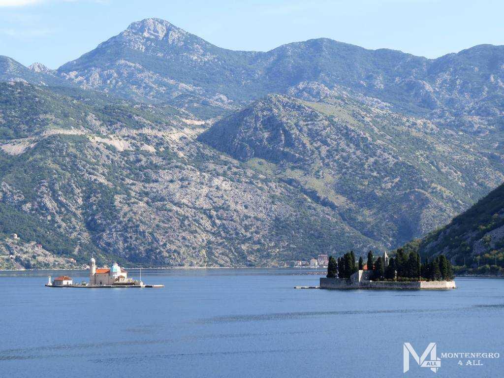 Места для отдыха в Черногории