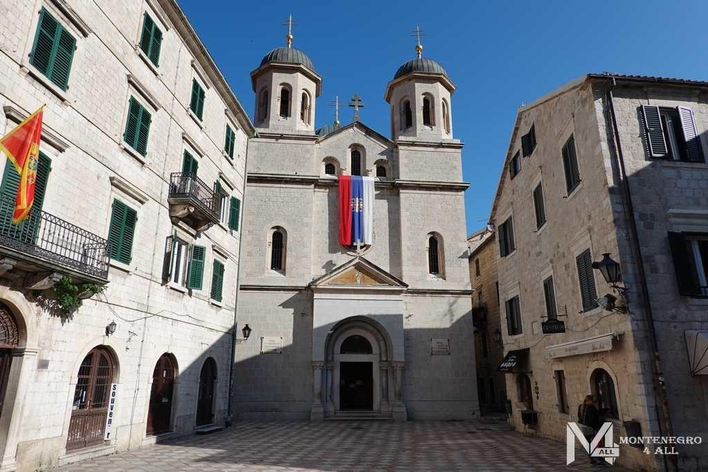 Церкви в Старом городе Котор