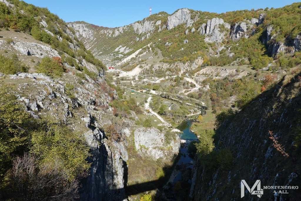 Вид с моста каньона Невидио