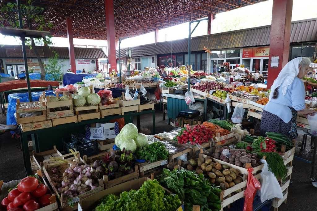 Городской рынок города Бар