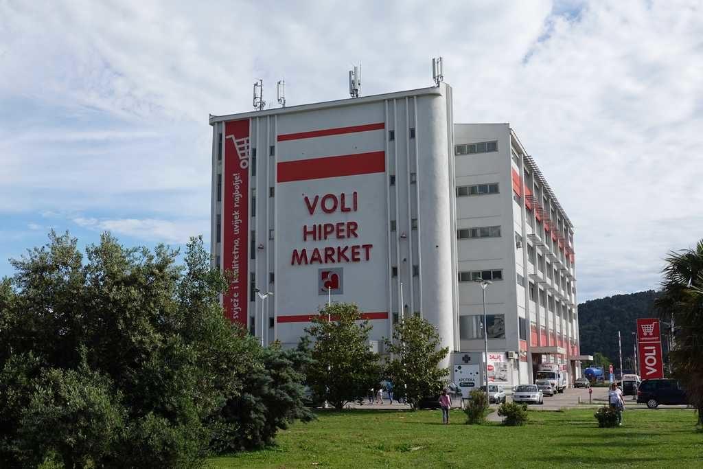 Гипермаркеты Черногории