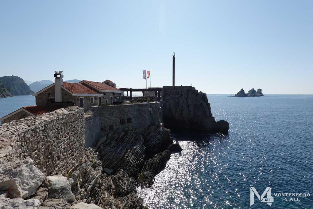 Вид на острова из Петровац