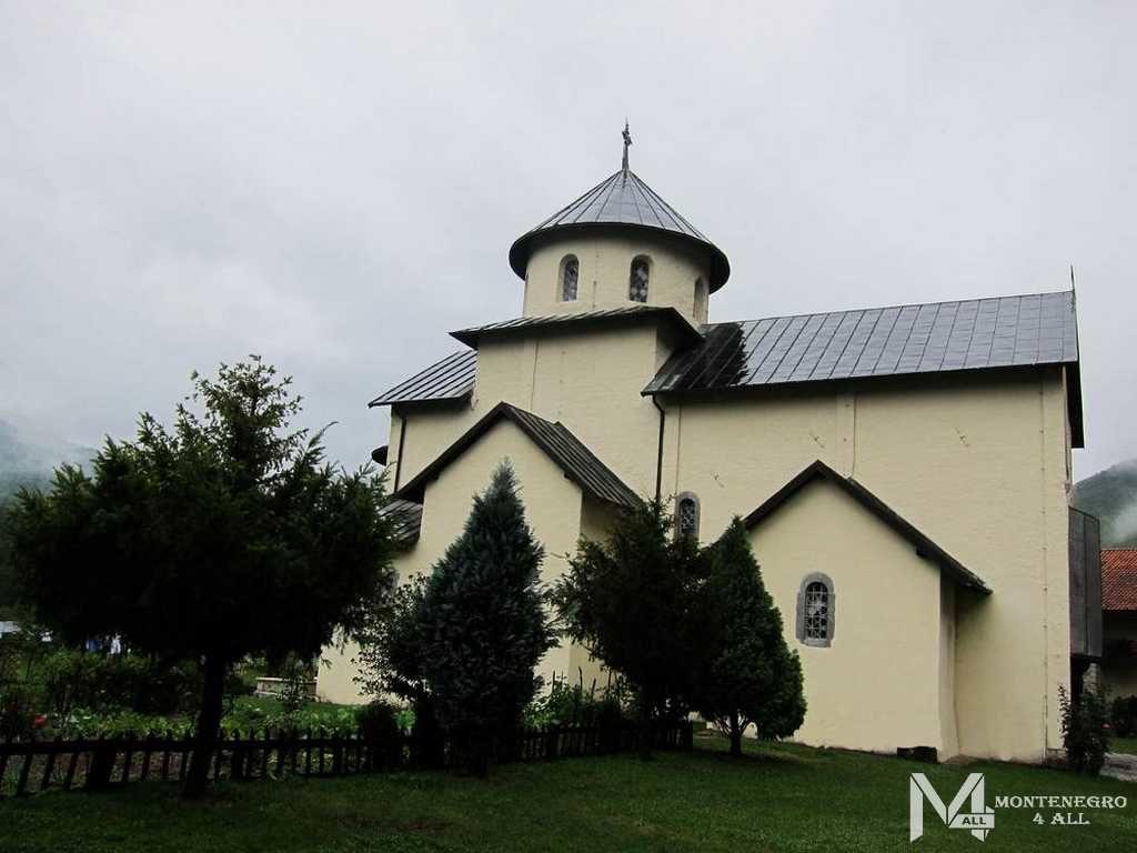 Монастырь Морача, церковь Успения Богоматери