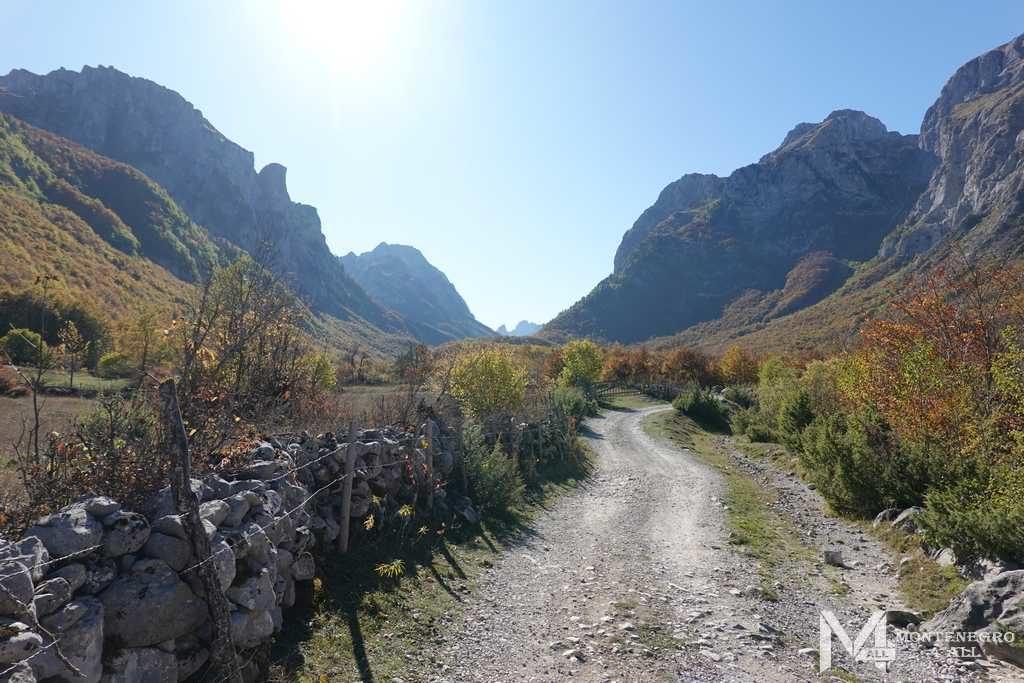 Горные массивы Черногории