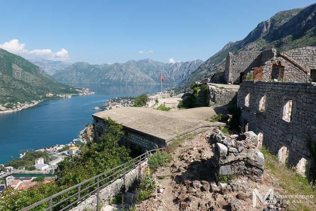 Достопримечательности Черногории: Крепость Святого Иоанна