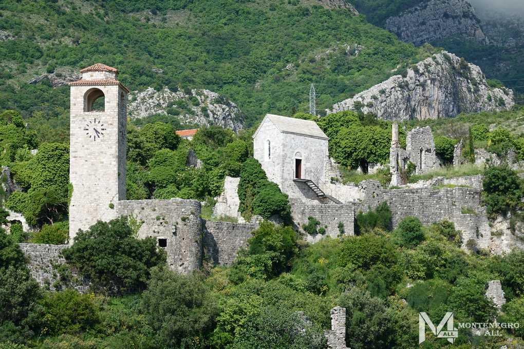 Достопримечательности Черногории: Старый город Бар