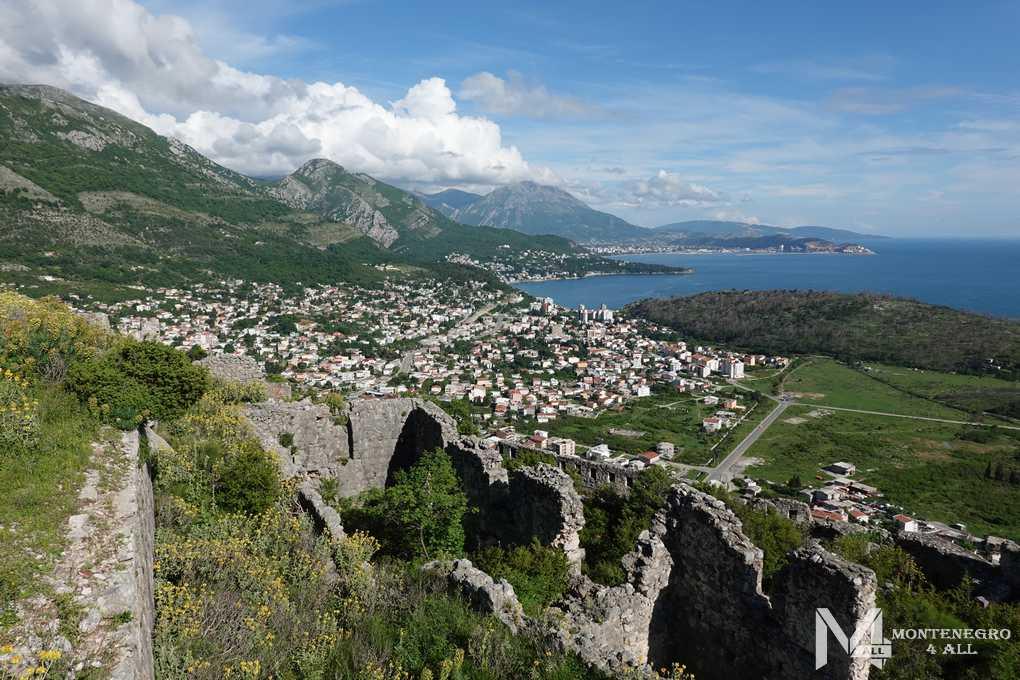 Достопримечательности и крепости Черногории