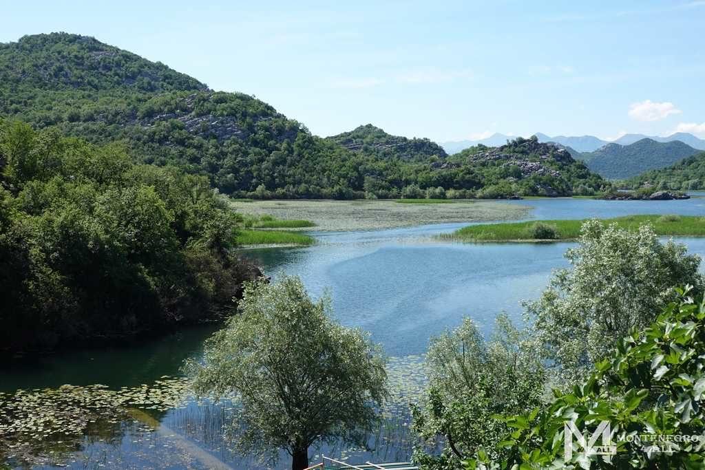 Дорога из деревни на Скадарское озеро