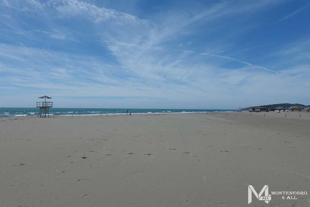 Песчаный пляж на Велика Плажа