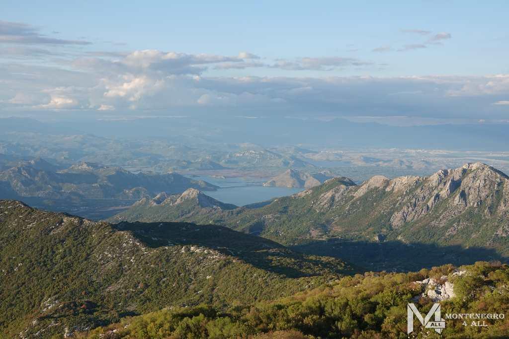 Вид с горы Врсута
