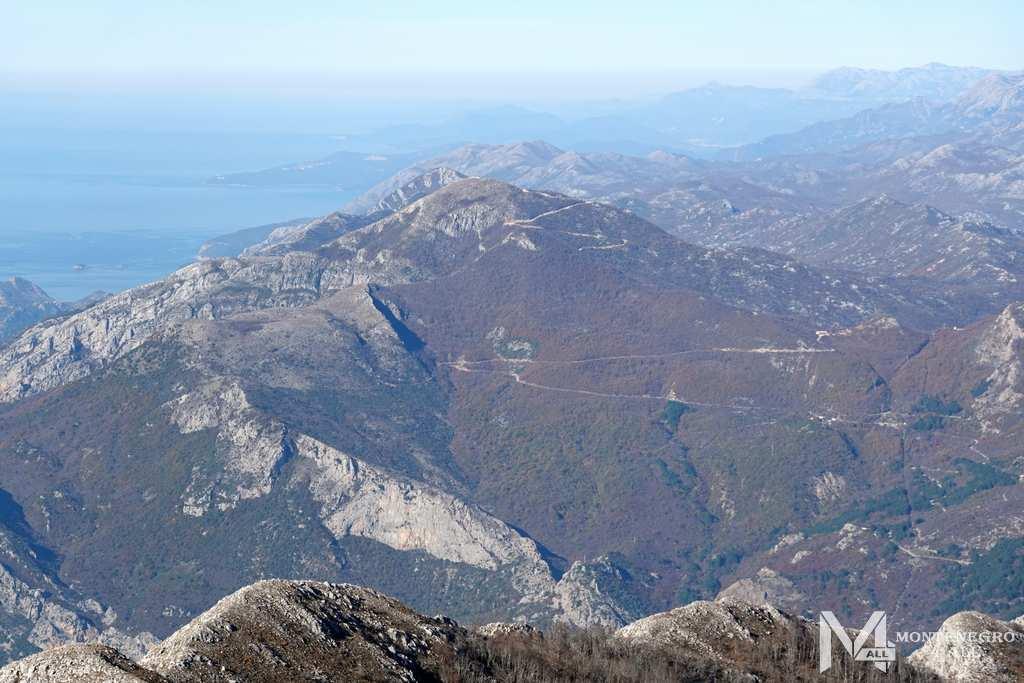 Вид на гору Врсута