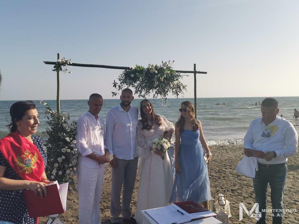 Свадьба черногорцев летом