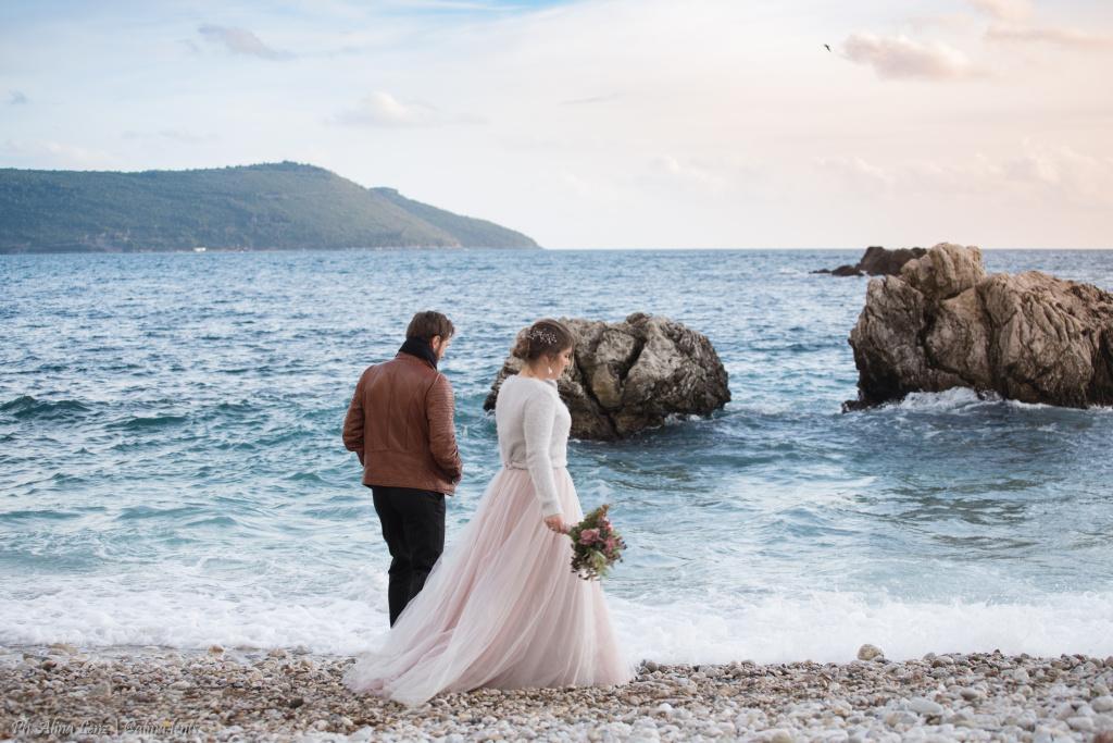 Свадьба в Черногории весной