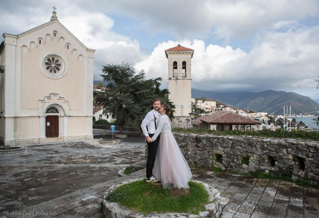 Венчание в церкви Черногории