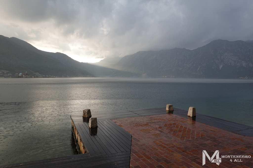 Погода в Черногрии в ноябре - Которский залив